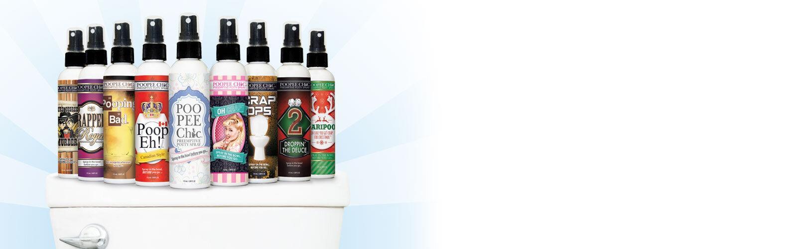 Poopeechic Pre-Emptive Potty Spray