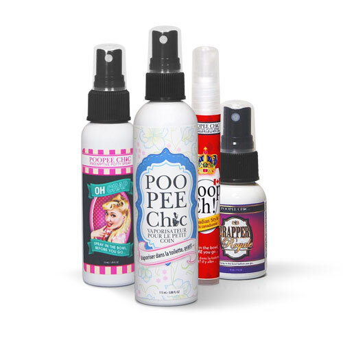 Poopeechic Pre-Emptive Potty Spray