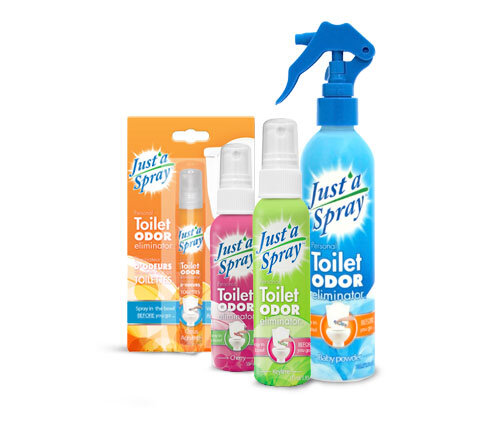 Toilet Odor Eliminator Just'a Spray