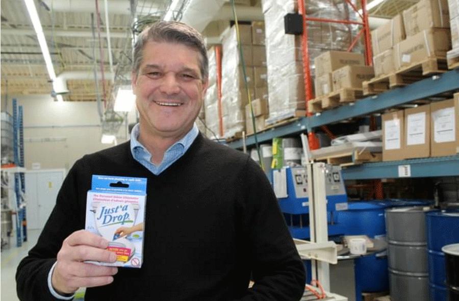 Prelam Enterprises co-founder Luc Jalbert - Just'a Drop