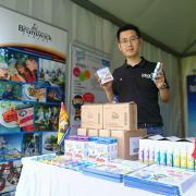 prelam enterprises, just'a drop, just'a spray, canada day fair, beijing, opportunity new brunswick